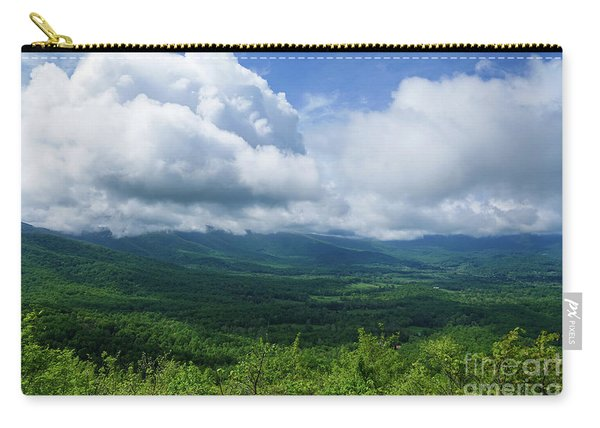 Blue Ridge Mountains Fine Day Carry-all Pouch