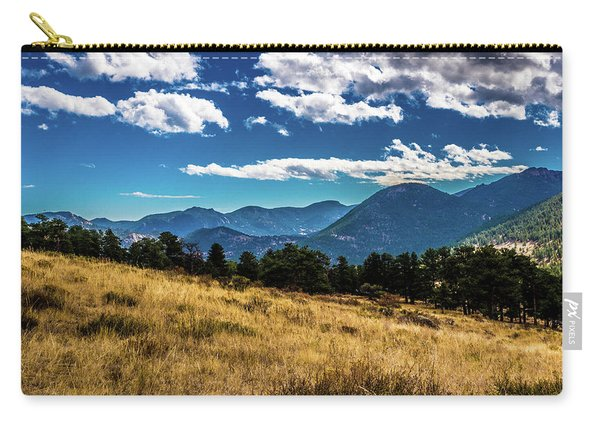 Blue Skies And Mountains Carry-all Pouch