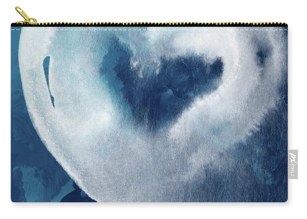 Blue Valentine- Art By Linda Woods Carry-all Pouch