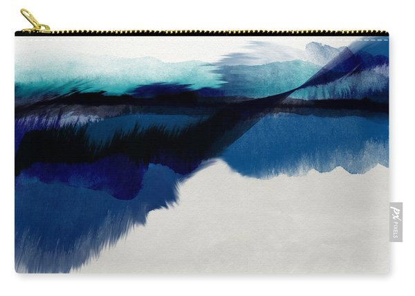 Blue Vista- Art By Linda Woods Carry-all Pouch
