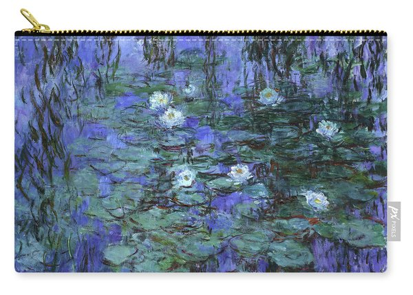 Blue Water Lilies - Digital Remastered Edition Carry-all Pouch