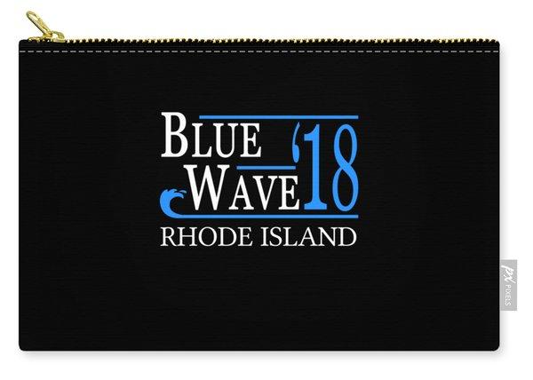 Blue Wave Rhode Island Vote Democrat 2018 Carry-all Pouch