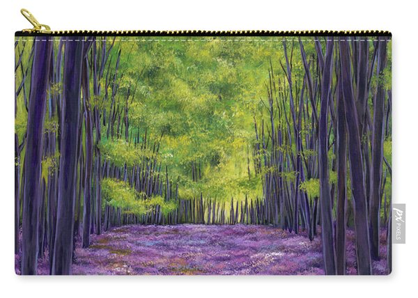 Bluebells And Daydreams Carry-all Pouch