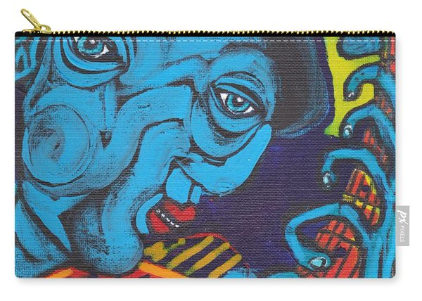 Blues Dude Carry-all Pouch