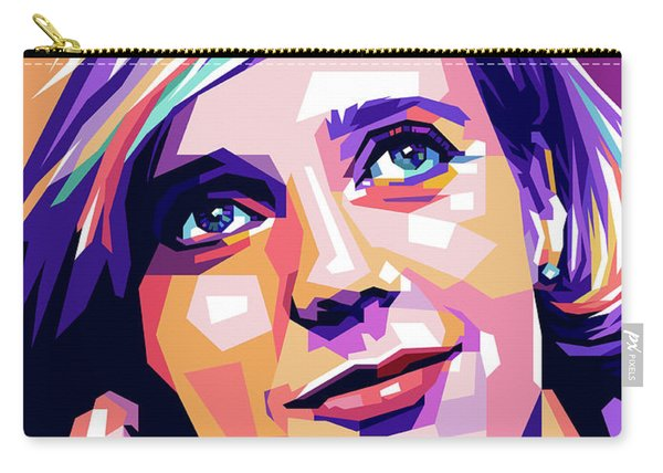 Blythe Danner Pop Art Carry-all Pouch