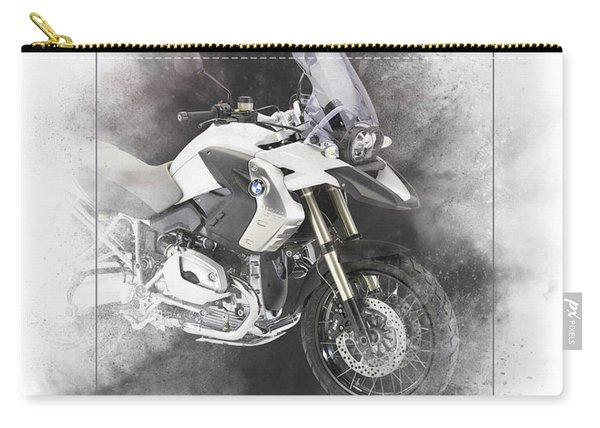 Bmw R1200gs Painting Carry-all Pouch