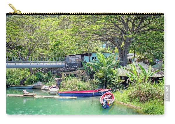 Boat And Rafting Tours Carry-all Pouch