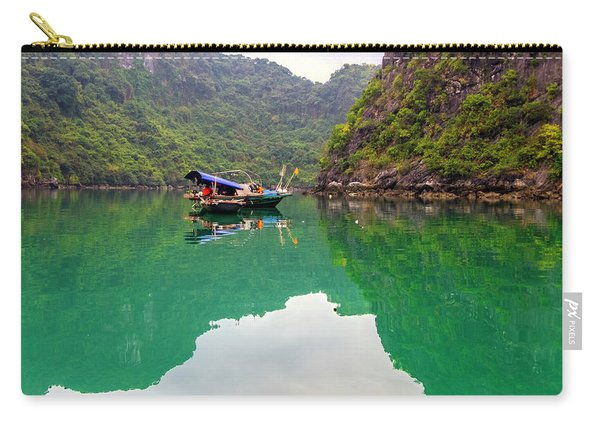 Boat On Halong Bay 2, Vietnam Carry-all Pouch