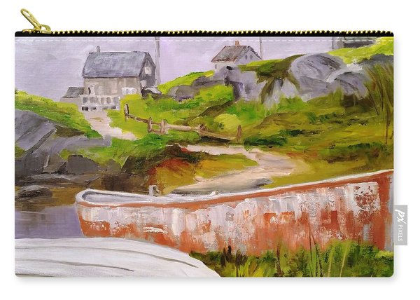 Boats At Peggy's Cove Carry-all Pouch