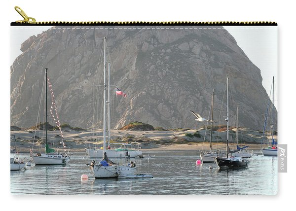 Boats In Morro Bay Carry-all Pouch
