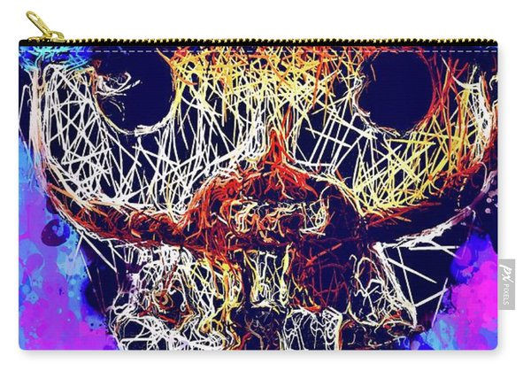 Carry-all Pouch featuring the mixed media Bobby Supernatural Pop by Al Matra