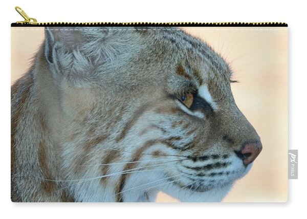 Bobcat Profile Carry-all Pouch