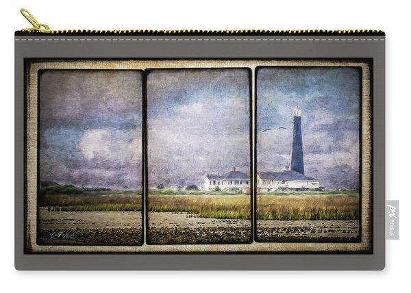 Bolivar Lighthouse Triptych 1 Carry-all Pouch