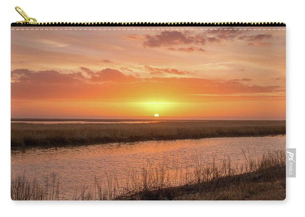 Bombay Hook Sunrise Carry-all Pouch