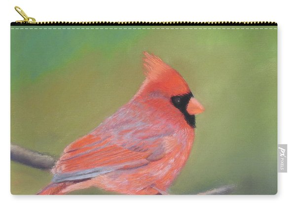 Bonded Pair - Male Cardinal Carry-all Pouch