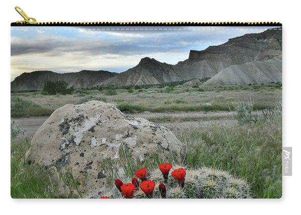 Book Cliffs Clarion Cactus Carry-all Pouch