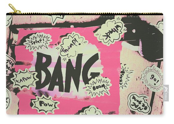 Boom Crash Bang Carry-all Pouch