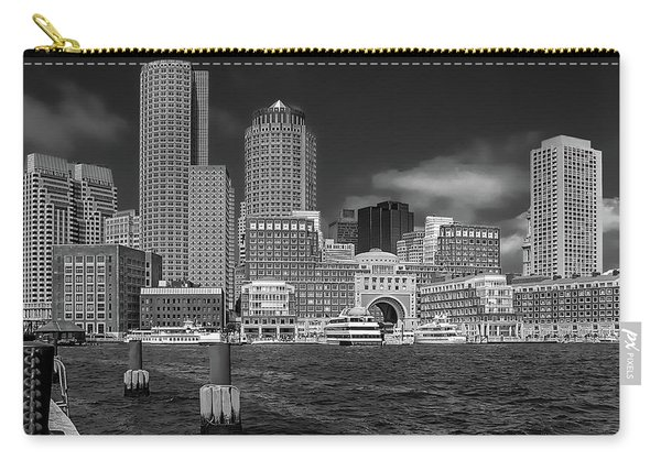 Boston Harbor Skyline Carry-all Pouch