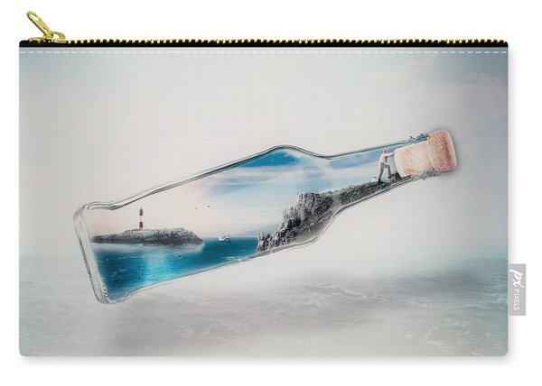 Bottle Island Carry-all Pouch