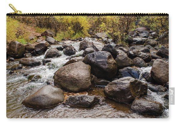 Boulders In Creek Carry-all Pouch