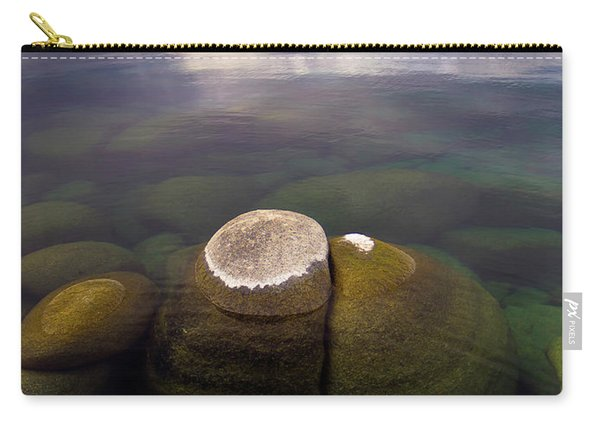 Boulders Underwater At Sand Harbor Carry-all Pouch