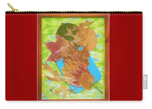 Bouquet From Fallen Leaves Carry-all Pouch