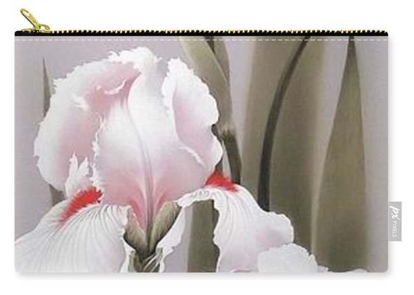 Bouquet Of White Irises Carry-all Pouch