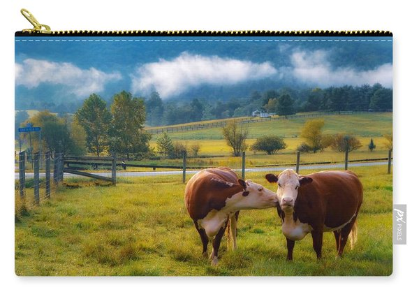 Bovine Love Carry-all Pouch