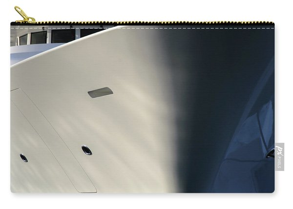 Bow Of Mega Yacht Carry-all Pouch