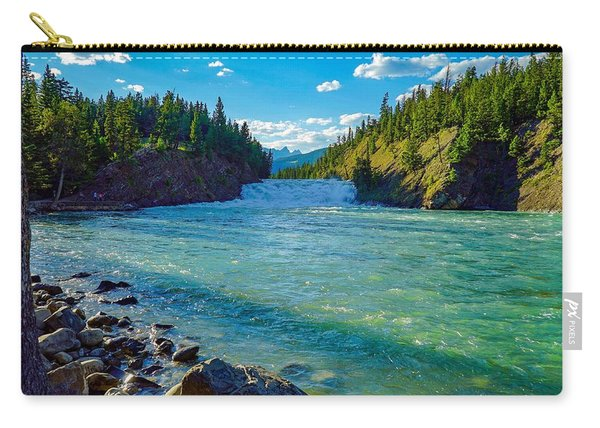 Bow River In Banff Carry-all Pouch