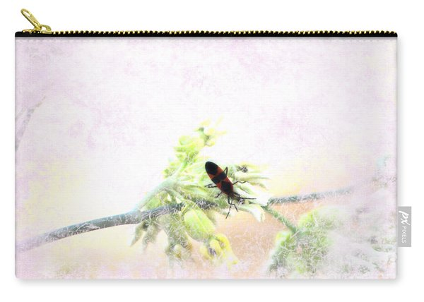 Boxelder Bug In Morning Haze Carry-all Pouch