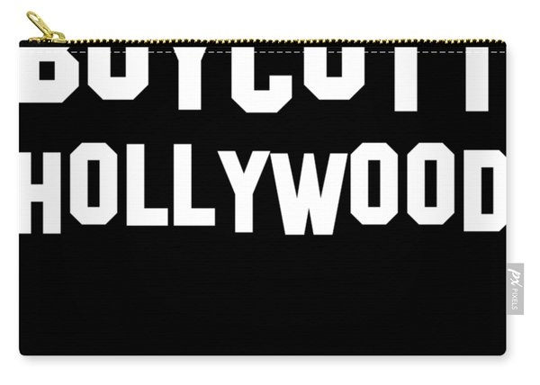 Boycott Hollywood Carry-all Pouch