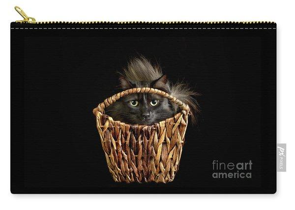 Boyfriend In A Basket Carry-all Pouch