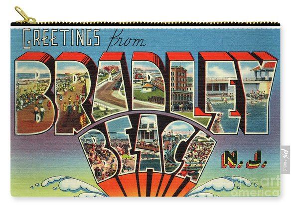 Bradley Beach Greetings Carry-all Pouch