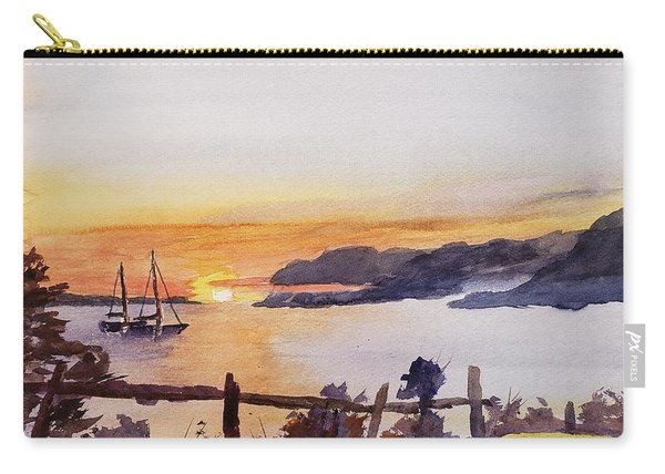 Brakey Bay Sunset Carry-all Pouch