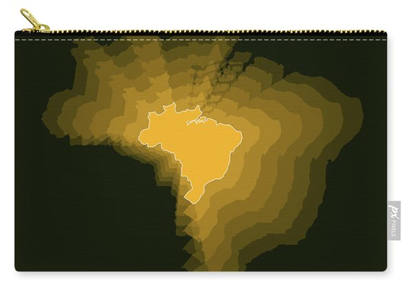 Brazil Radiant Map 1 Carry-all Pouch