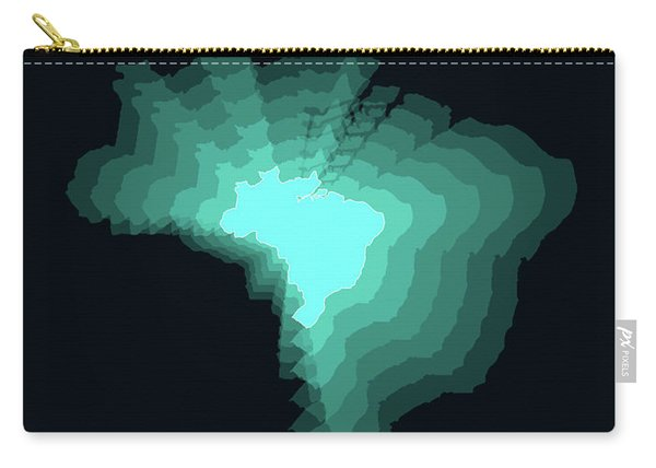 Brazil Radiant Map 2 Carry-all Pouch