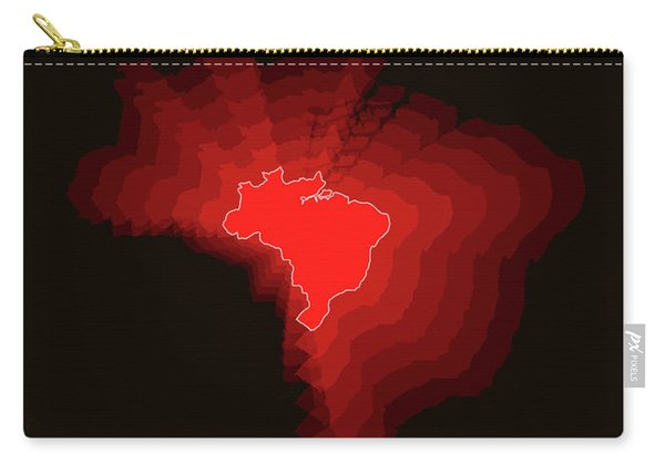 Brazil Radiant Map 3 Carry-all Pouch