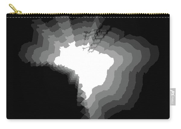Brazil Radiant Map 4 Carry-all Pouch