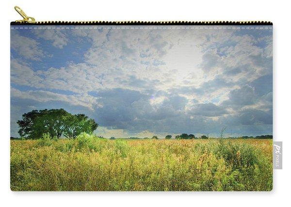 Brazos Bend State Park Prairie Heavenly Sky Carry-all Pouch