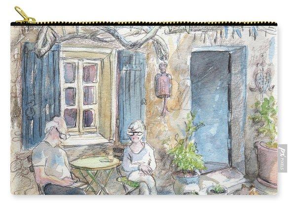 Breakfast Al Fresco Carry-all Pouch