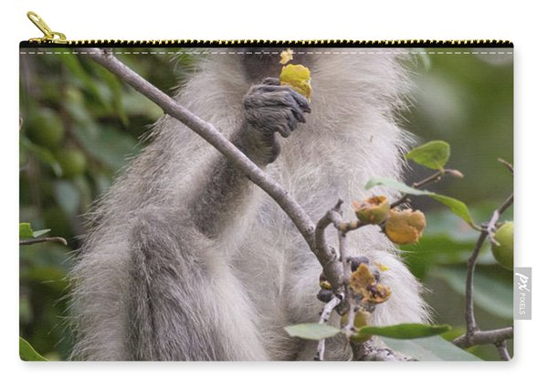 Breakfasting Monkey Carry-all Pouch