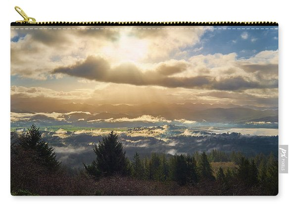 Carry-all Pouch featuring the photograph Breakthrough by Whitney Goodey