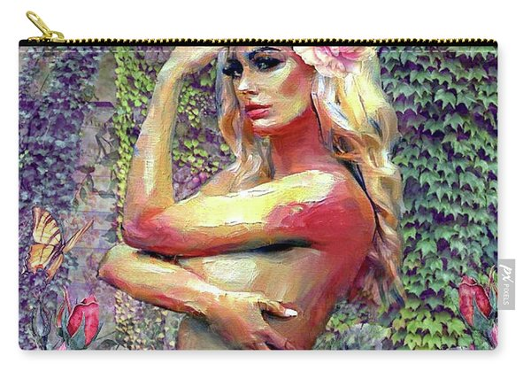Breathe In Her Beauty Carry-all Pouch