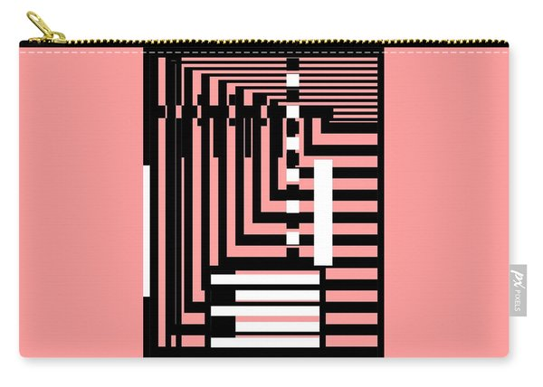 Breathtaking Linear Walls Carry-all Pouch