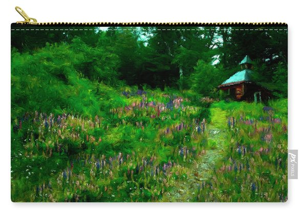 Breeze On The Lupine Field Carry-all Pouch