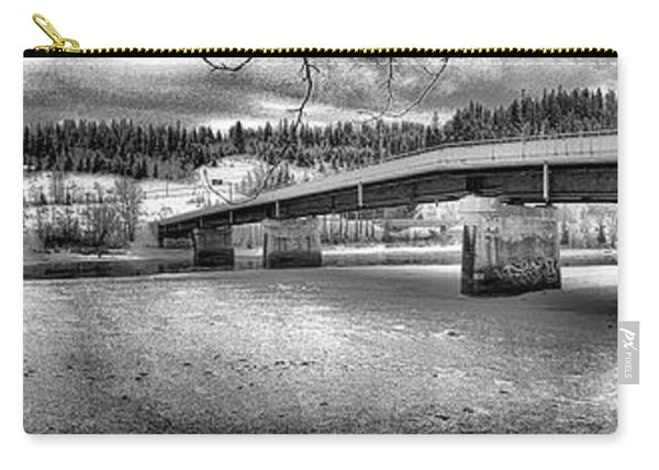 Bridge Over Frozen Waters Carry-all Pouch