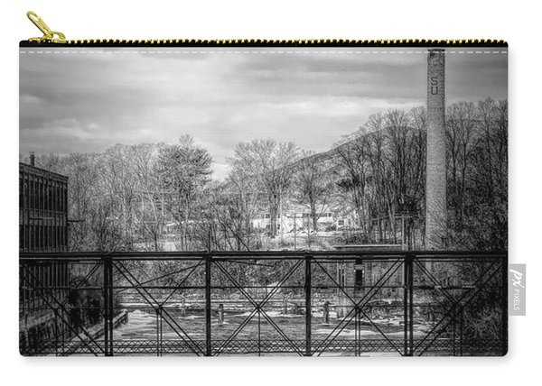 Bridge Over The Sugar River Carry-all Pouch