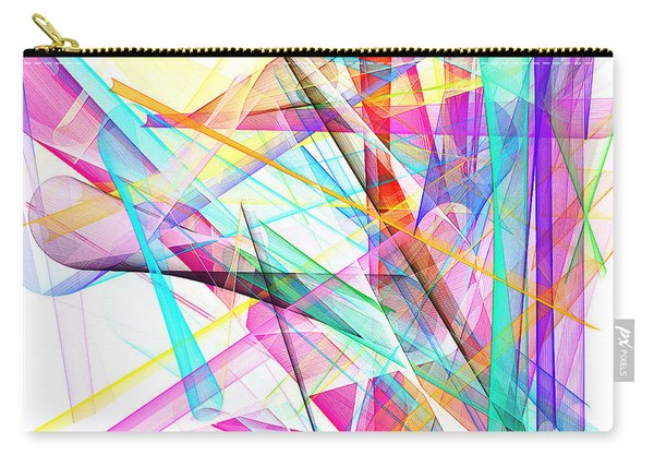 Bright Abstract Carry-all Pouch