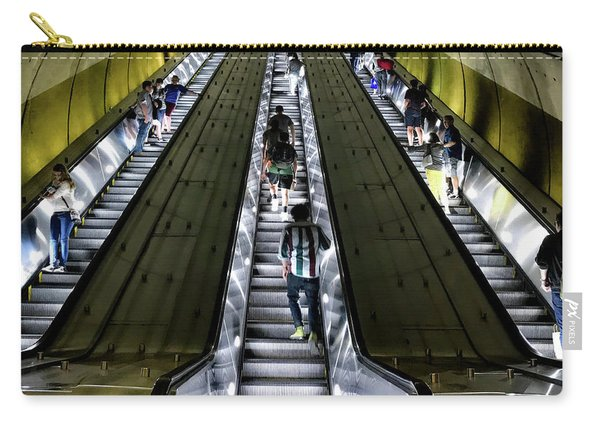 Bright Lights, Tall Escalators Carry-all Pouch